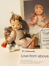 "Goebel Hummel ""Love From Above"" #481 Christmas Ornament 1989 New In Box COA MINT"