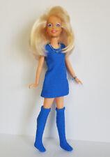 Hasbro Vintage JEM Clothes DRESS, BOOTS and JEWELRY Handmade Fashion NO DOLL d4e