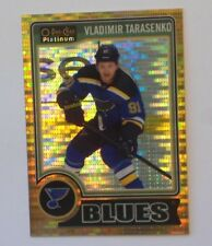 2014-15 OPC Platinum Seismic Gold VLADIMIR TARASENKO (8/50) #140 St. Louis Blues