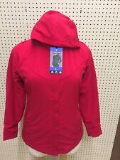 Kirkland Signature Ladies' Water-Repellent Wind Resistant Jacket Red Large