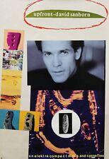 David Sanborn 1992 Upfront Elecktra Records Promo Poster Authentic Original