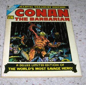 Marvel Treasury Edition 4 Conan Barry Smith art  Avengers   HOT LOT