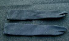 Vintage Barbie Long Black Tricot Gloves Outfit Completer! B