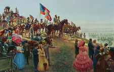 Mort Kunstler The Grand Review Limited Edition Civil War Print S/N