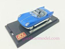 1:43 ACE Car Model Buckle Motors Goggomobil Dart 1959 - 1961 Top Blue Low White