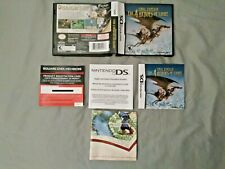 Final Fantasy The 4 Heroes of Light Nintendo DS Case, Manuals, Poster (No Game)