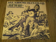 ALL AROUND BLUEGRASS - 20 OF THE BEST VARIOUS ARTISTS RCA 1982 EX