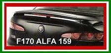 SPOILER ALETTONE POSTERIORE ALFA 159 GREZZO  CON FARO STOP F170G  SI170-1d
