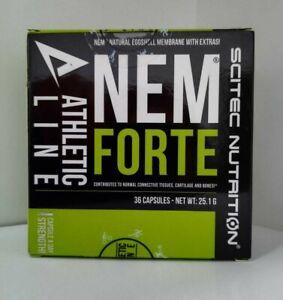 SCITEC NUTRITION ** NEM FORTE ** Athetic Line 36 CAPS