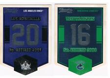 2012-13 LUC ROBITAILLE PANINI CLASSICS BANNER NUMBERS INSERT #EN37 LA KINGS