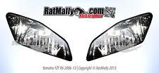 WORLD SUPERBIKE STYLE HEADLIGHT STICKERS - YAMAHA YZF R6 06-12 - RACE GRAPHICS