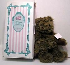 MORGAN BRITTANY Plush Bear TEDDY TOTE Lotus MIB