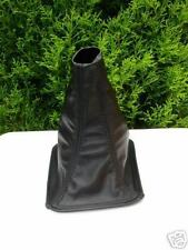 FITS NISSAN PRIMERA P11 96-01 BLACK GEAR GAITER REAL LEATHER