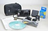 Nikon COOLPIX S9400 18.1MP Digital Camera Black 18x Zoom Refurb 90 Days Warranty