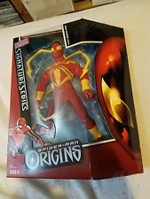 Spider-Man Origins Signature Series Iron Spider-Man Figure - New & Sealed
