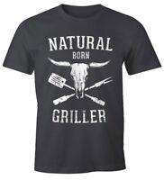 Natural Born Griller Herren T-Shirt Vintage Moonworks®