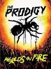 THE PRODIGY Live World's On Fire DVD/CD BRAND NEW NTSC Region All