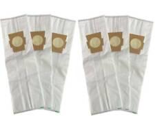 6 Universal HEPA Cloth Bags for Kirby Vacuum F Style Avalir Sentria
