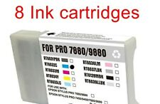 8 replacement ink toner for Epson T6031 T6032 T6033 T6034 T6034 T6036 T6037-6039
