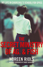 The Secret Ministry of Ag. & Fish by Noreen Riols BRAND NEW BOOK (Paperback 2014