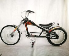 Rosetta Sport la Bicyclette Lowrider Noir Mo Chopper Vélo Harley Cycle Cruiser