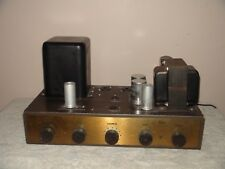 Vintage Eico HF-20 Mono Integrated Amplifier   For Parts or Repair