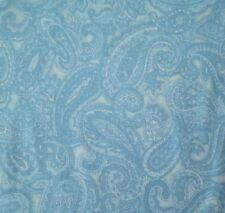 St Nicole Designs BTY Benartex Tonal Blue Packed Paisley