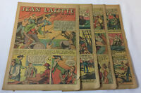 1949 seven page cartoon story ~ JEAN LAFITTE Patriot or Pirate?