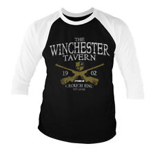 Officially Licensed Winchester Tavern 3/4 Sleeve Baseball T-Shirt S-XXL Sizes