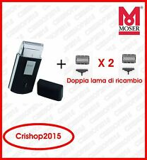 Wahl Mobile Shaver Rasoio Elettrico 240V - Nero (3615-0470)