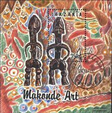 Tanzania Bloque 208 (edición completa) usado 1992 Makonde-Arte