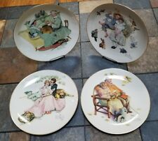 Norman Rockwell Set of 4 Collectors Plates Four Seasons 1973 (for year 1955)