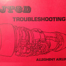 Pratt & Whitney JT8D Turbofan Troubleshooting Manual