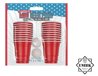 22pc Beer Pong Mini Set Party Drinking Game Red Cup Beerpong Xmas Indoor G3366UK