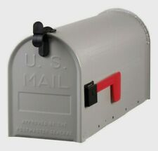 New Gray Solar Group Steel Rural Mailbox T1 Size Nib Home Improvement Post St10