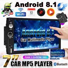 "7"" 2DIN Android 8.1 WIFI Mit GPS Navi Bluetooth Mirror Link MP5 Player Autoradio"