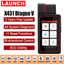 LAUNCH X431 Diagun V Full System Bidirectional Active Test ECU Coding Scan Tool