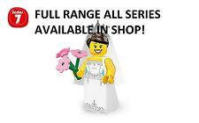 Lego minifigures bride series 7 (8831) unopened new factory sealed