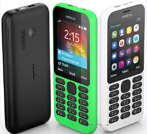 """Nokia 215 2G 2.4"""" Cellphone Bluetooth Dual SIM 0.3MP GSM 900 / 1800 Mobile Phone"""