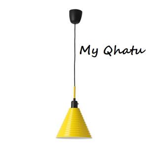 IKEA Fargstark Pendant Lamp Yellow 604.271.65