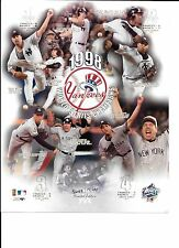 1998 NEW YORK YANKEES TEAM Unsigned 8x10 Photo World Series Champions