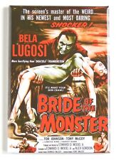 Bride of the Monster FRIDGE MAGNET (2.5 x 3.5 inches) movie poster ed wood