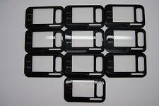 LOT of 10 OEM Nokia Surge 6790 Black Front Housing USED
