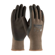 Pip 39-C1500/Xl 10G Brown Cotton Polyester Shell Brown Latex MicroFinish Gloves