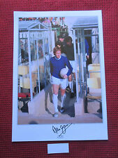 EVERTON - ENGLAND LEGEND ALAN BALL RARE PERSONALLY HAND SIGNED PHOTO-EXACT PROOF