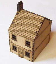 15mm Scale  WW2 European Terraced House MDF Kit Style 1 , FOW Flames of War