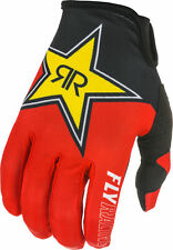 2021 Fly Racing Lite Rockstar Gloves - Black/Red/Yellow / All Sizes