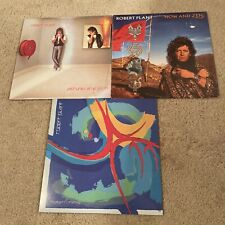 Robert Plant Album Lot. Now And Zen, Shaken N Stirred, Pictures At Eleven.