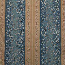 Gold L.Carter LC Damask Warner Fabrics Plc Cotton Print Vintage Victorian Dress