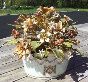 Jane Hutcheson, Gorham Fleurs des Siecles Metal Flowers, Mottahedeh Monteith Pot